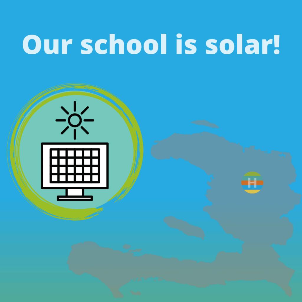 our school uses solar energy