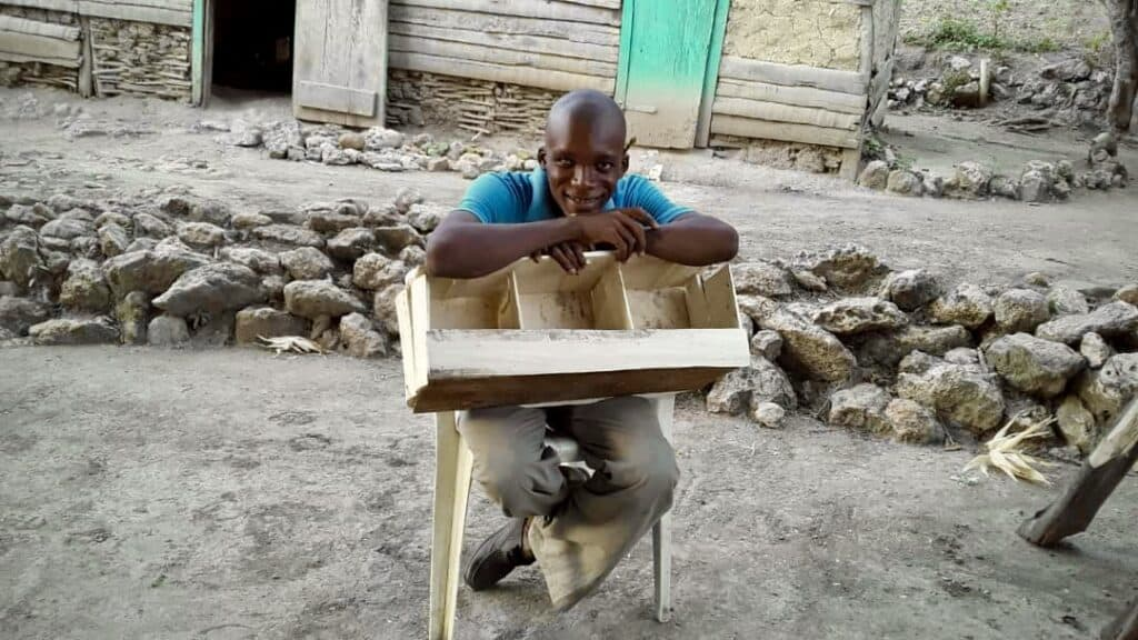 Empowered student Builds a Pigeon House