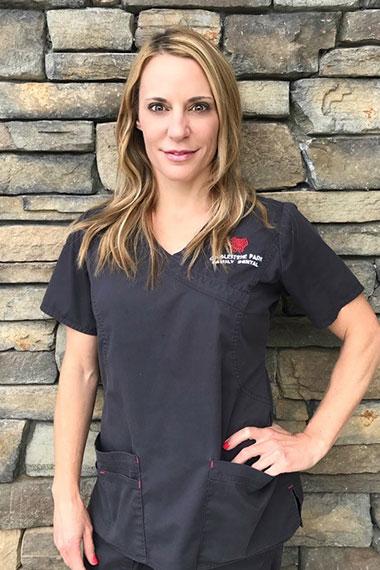 Registered Dental Hygienist, Jasmine Morgan, at Cobblestone Park Family Dental