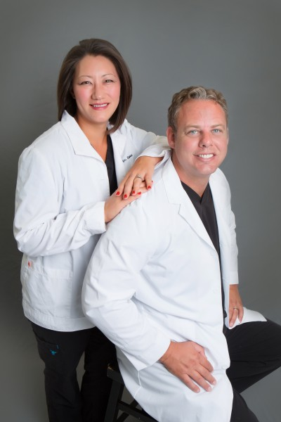 Doctors Jennifer and Cory Chambers