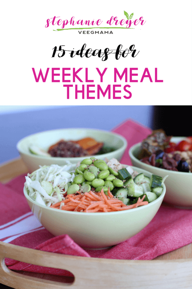 Weekly Meal Themes