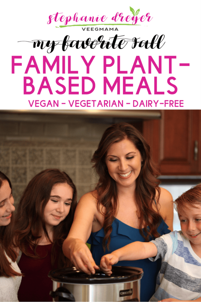 This list of my favorite plant-based Fall family recipes will keep your family well fed this season with minimal work and time in the kitchen for you.