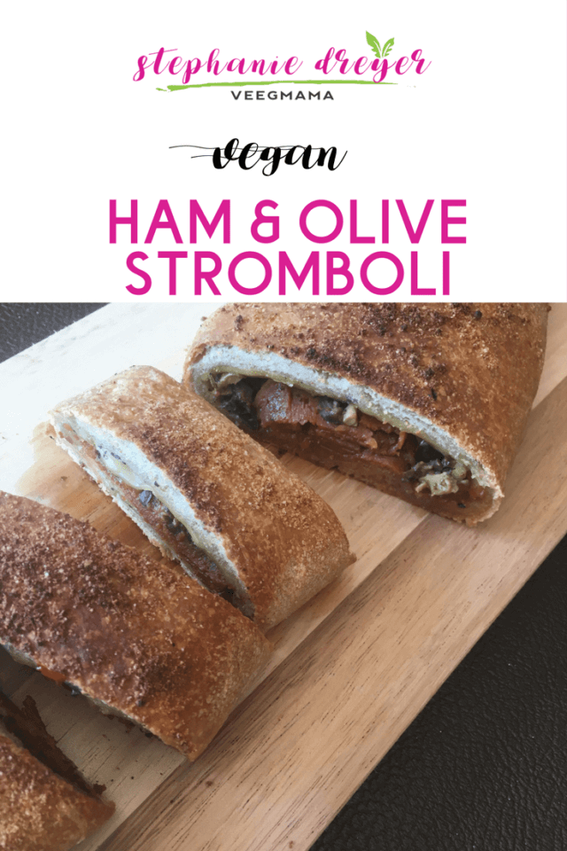 This vegan stromboli is a delicious plant-based variation on the traditional meat stuffed Italian bread and simple to make with store-bought pizza dough.