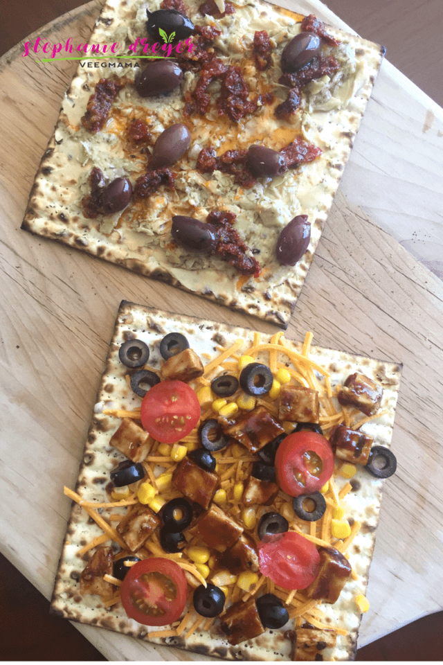 Matzah pizzas are my ridiculously simple, but delicious way to serve up matzah in a myriad of ways during Passover. Try one of these 10 ridiculously easy matzah pizzas to jazz up your regular cheese creation.