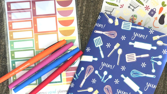 How To Meal Plan with Erin Condren Petite Planners