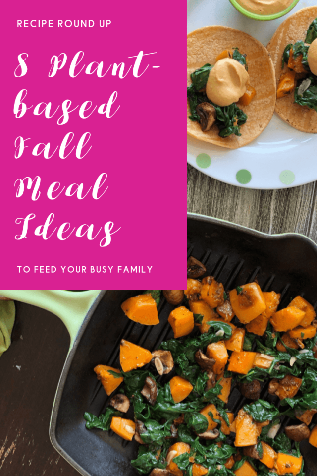 plant-based fall meal ideas