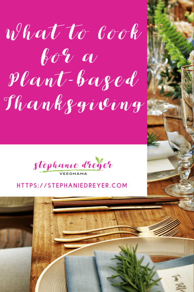 plant-based Thanksgiving