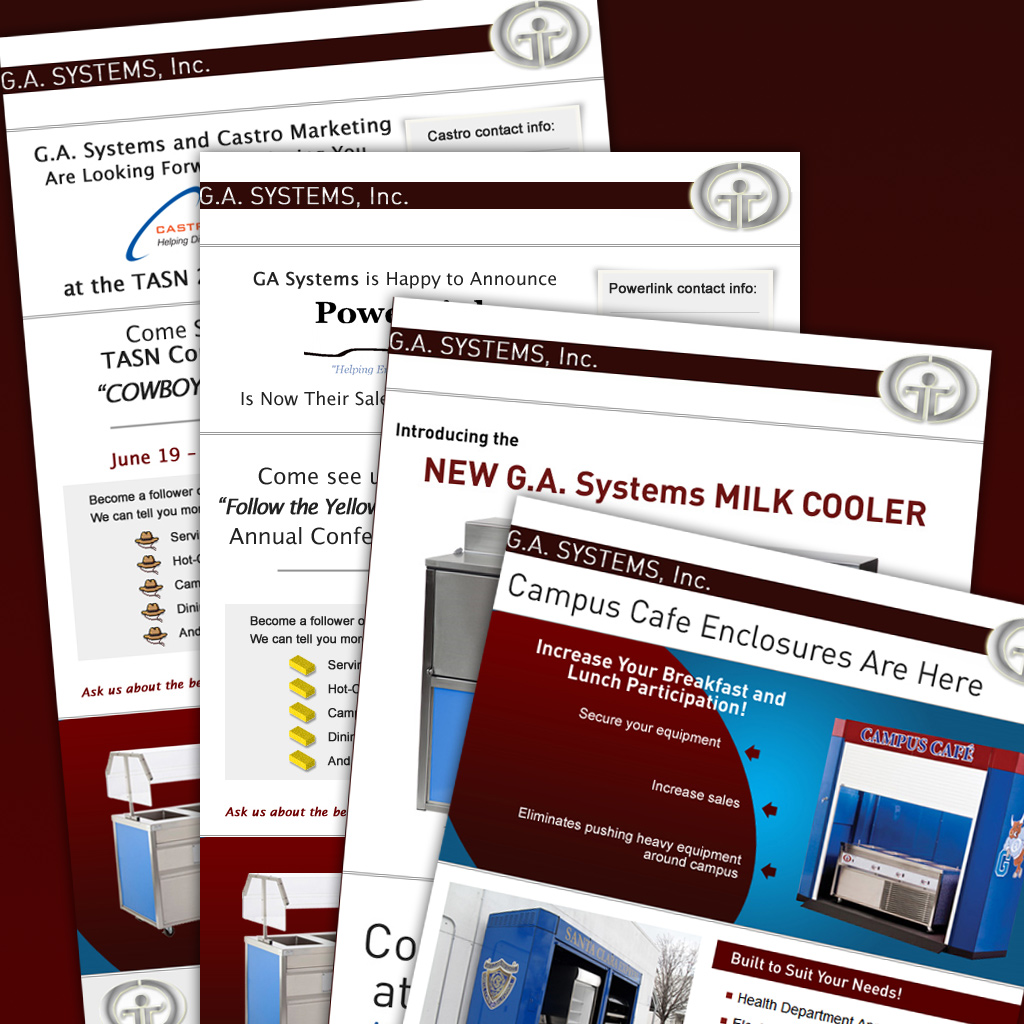GA Systems Email Marketing Campaigns