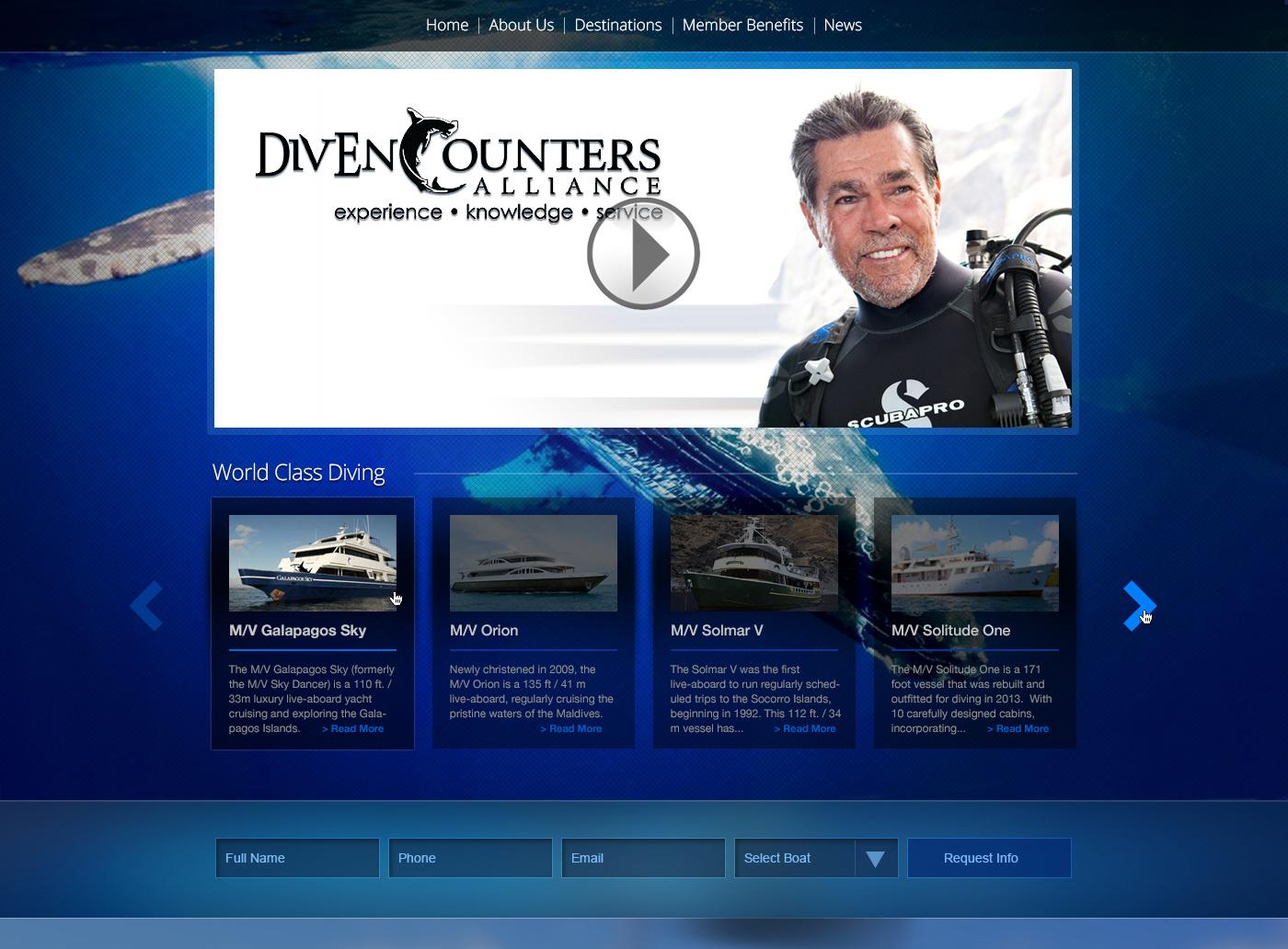 DivEncounters New Responsive Website