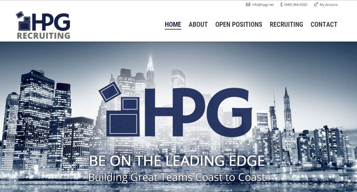 HPG's New Responsive Website