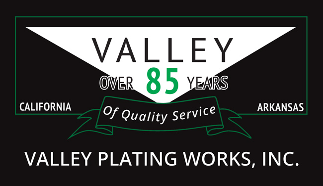 New Logo Updates for Valley Plating
