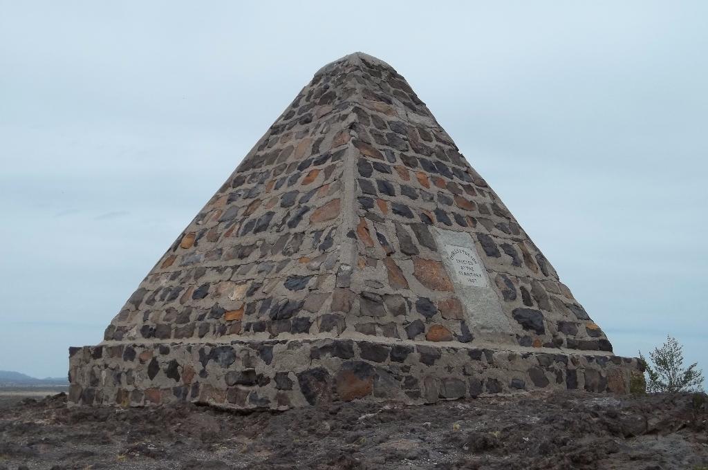 Charles Poston's Mausoleum just east of Phoenix
