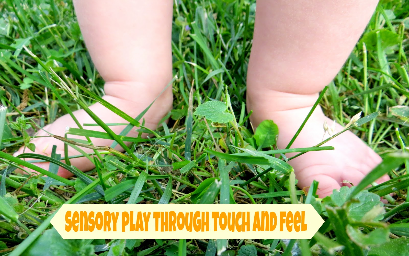 Sensory Play Through Touch and Feel