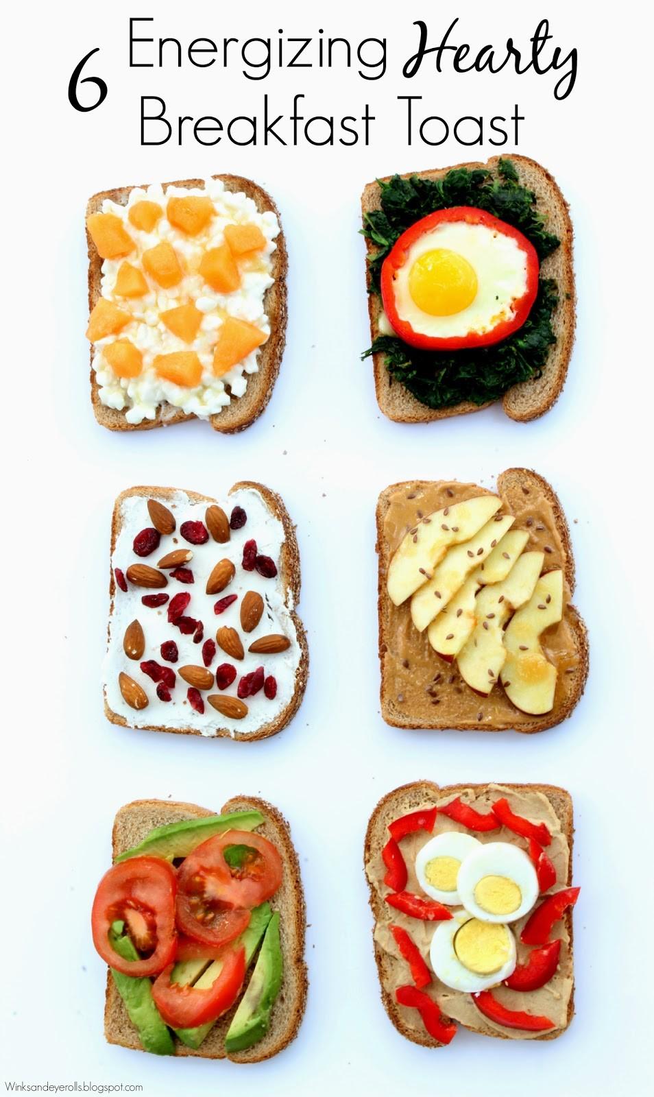 6 Energizing Hearty Breakfast Toast