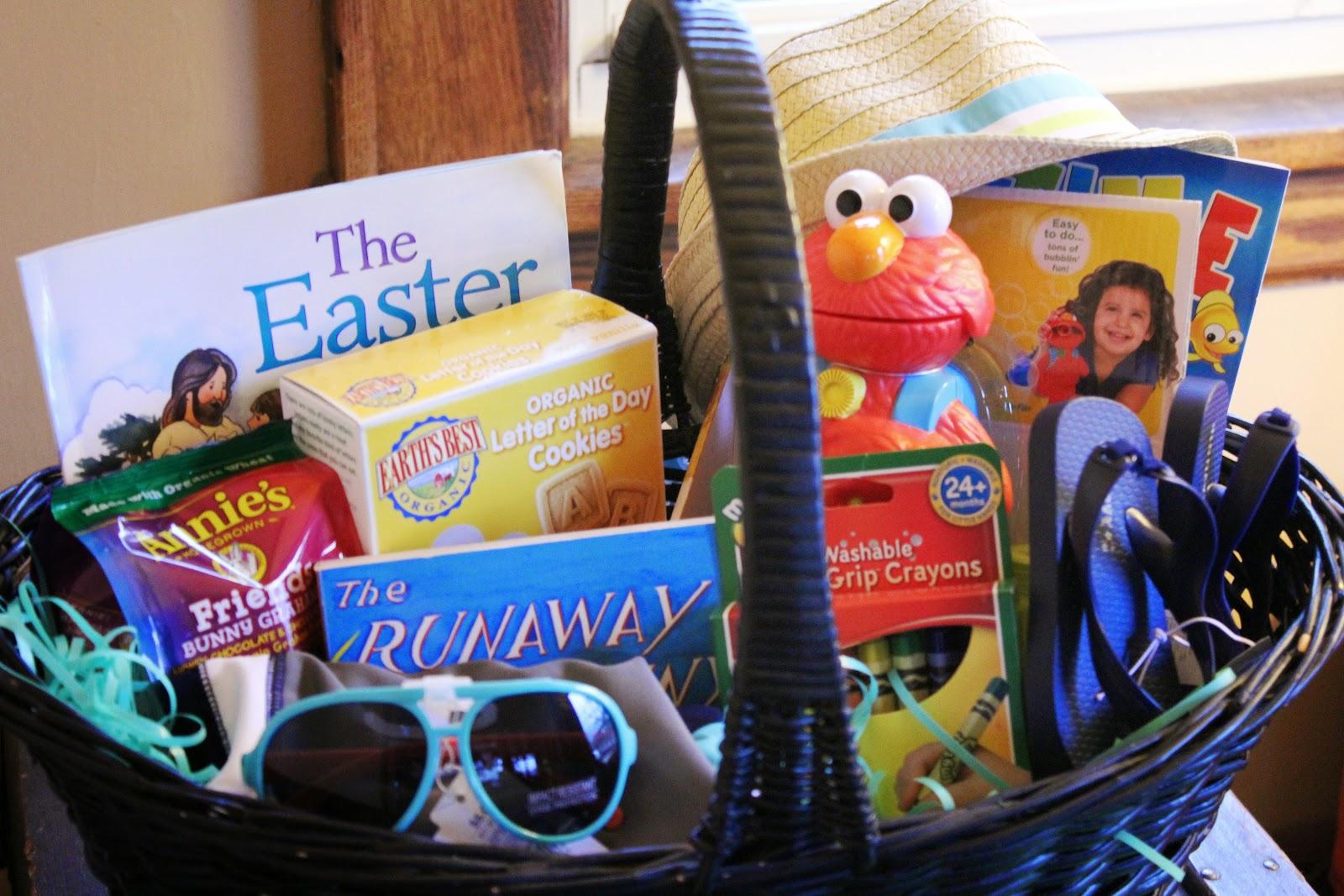 Toddler Easter Basket Items