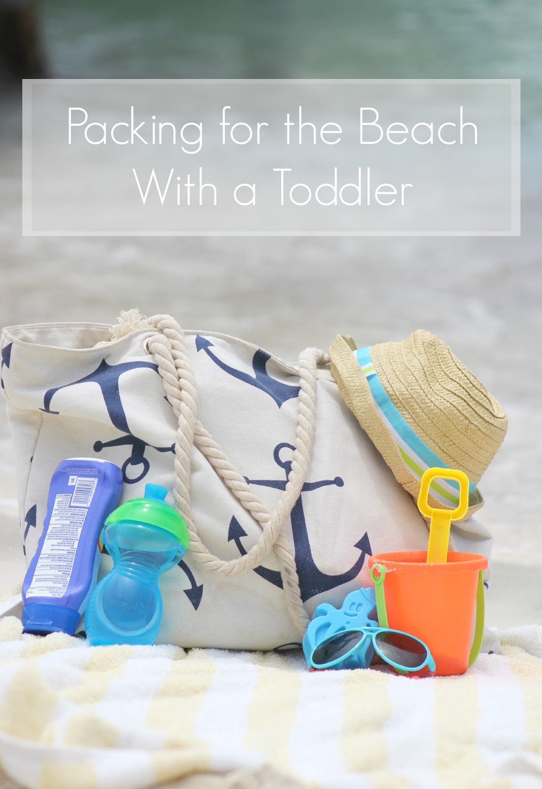 Taking a toddler to the beach