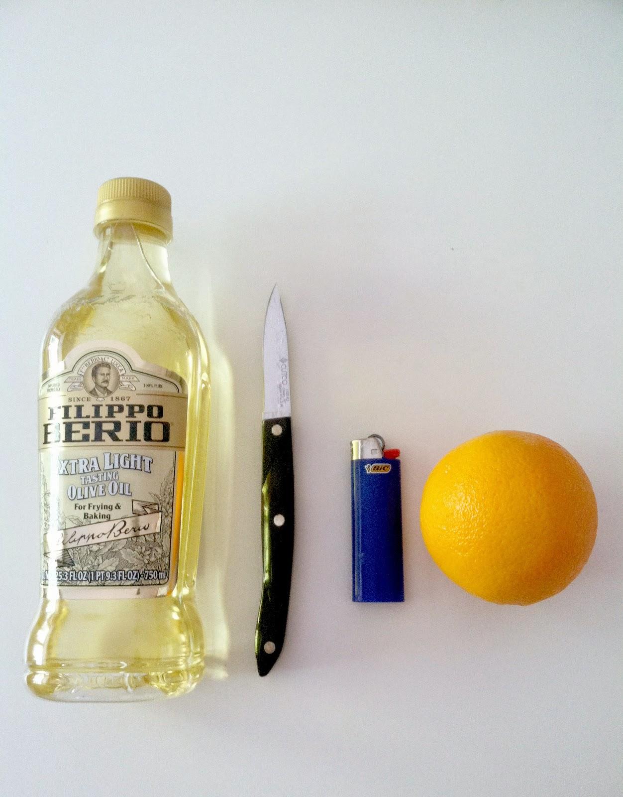 Natural Orange Peel Candle