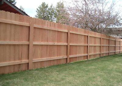 Heart Fence Style: Dog Ear Clear Cedar Fence Style