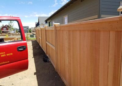 Heart Fence Style: Framed Panel 50/50