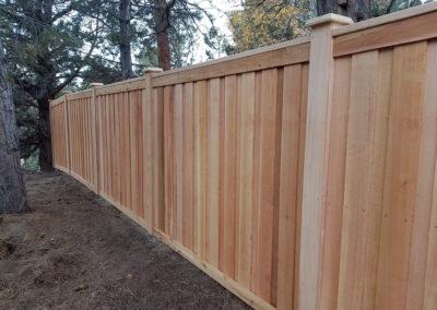 Heart Fence Style: Framed Panel Alternating Board