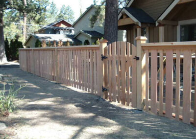 Heart Fence Style: In-Town Charm