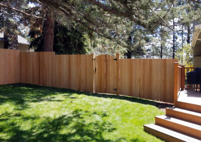 Heart Fence Style: Flat Top