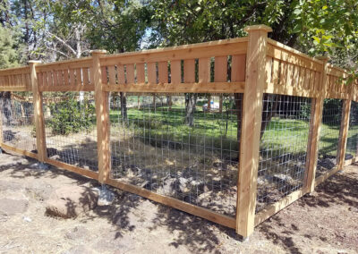 Heart Fence Style: Decorative Kennel