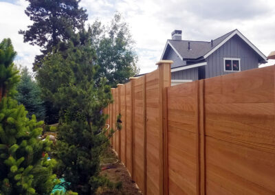 Heart Fence Style: Horizontal Full Privacy