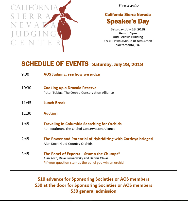 CSNJ Speakers Day