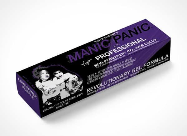 manic panic professional love power purple