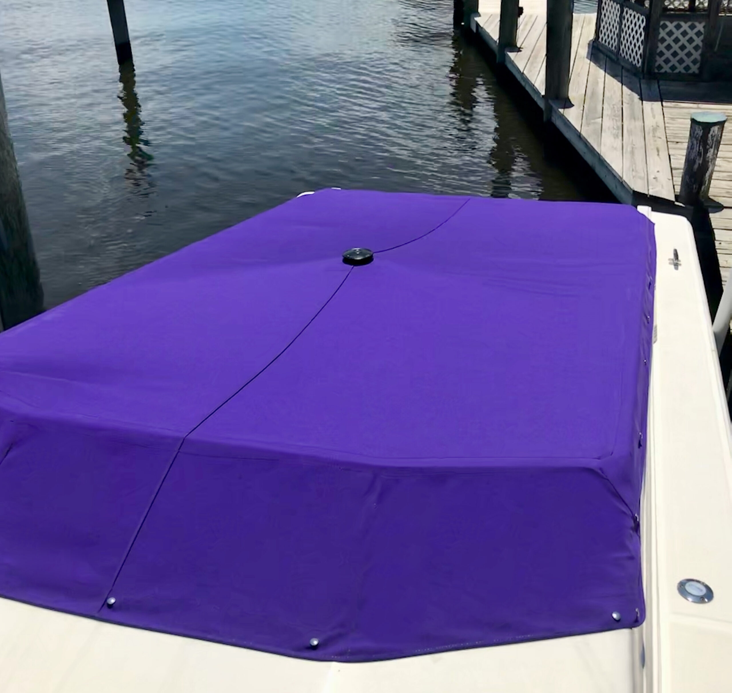 Sunbrella Canvas Cockpit Storage Boat Marine Cover