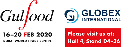 Visit us at Gulfood 16-20 Feb 2020 - Hall: 4 Stand: D4-36