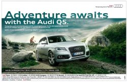 Audi Q5 Car Advertisement
