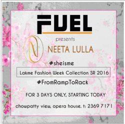 Fuel Neeta Lulla Advertisement