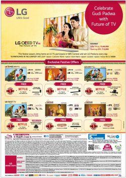 LG LED TV Advertisement