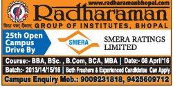 Radha Raman Group of Institute Advertisement