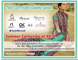 The Cotton Lawn Shop Advertisement