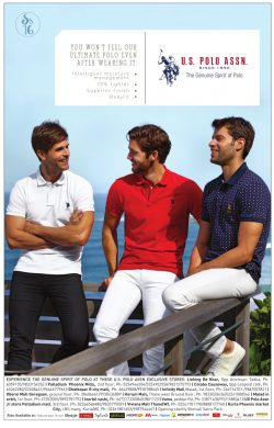 US Polo Assn Advertisement