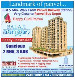 Balaji Aangan Flats for Sale Ad in TOI Mumbai