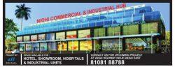 Nidhi Commercial Industrial Hub Ad in TOI Mumbai