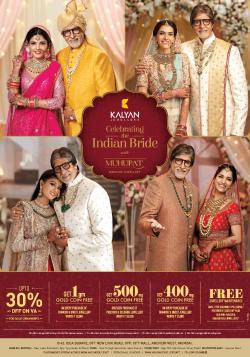kalyan-jewellers-celerating-the-indian-bride-muhurat-ad-times-of-india-mumbai-10-11-2018.png