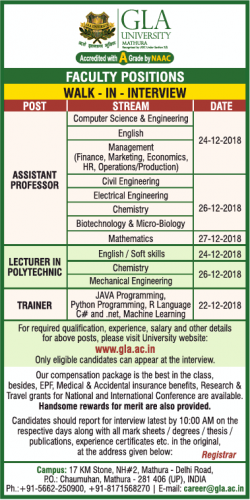 gla-university-requires-assistant-professor-lecturer-in-polytechnic-trainer-ad-times-ascent-delhi-19-12-2018.png