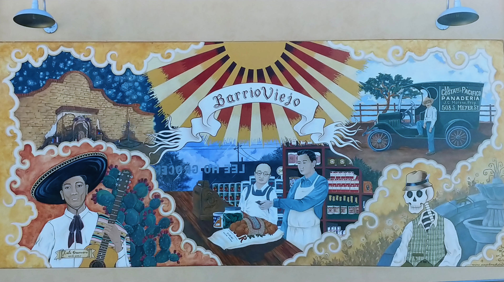 Tucson Mural Barrio Viejo