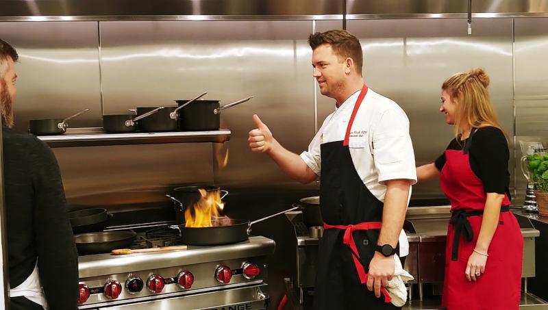 Chef Ryan Clark at Flying Aprons Tucson