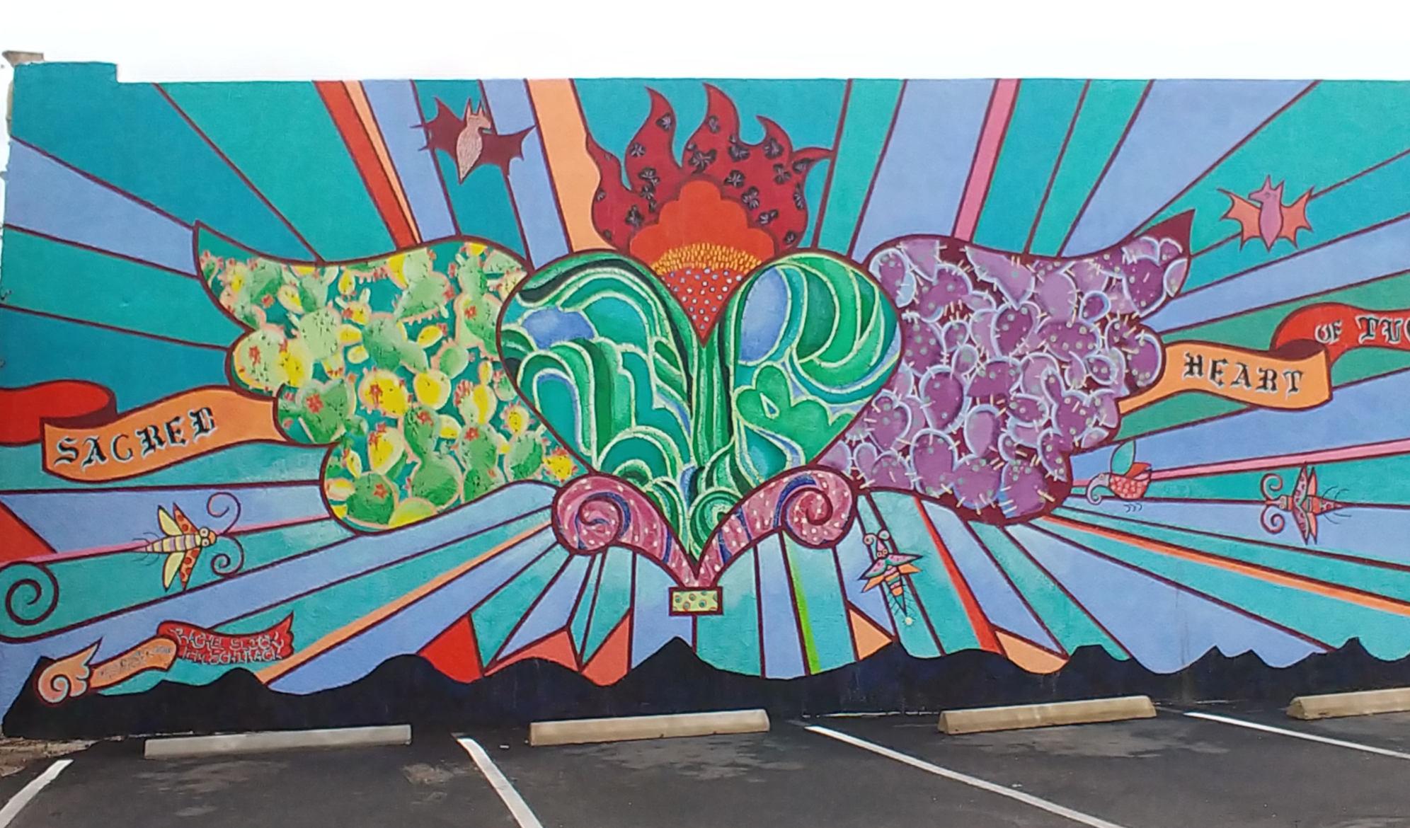 Mural Sacred Heart of Tucson