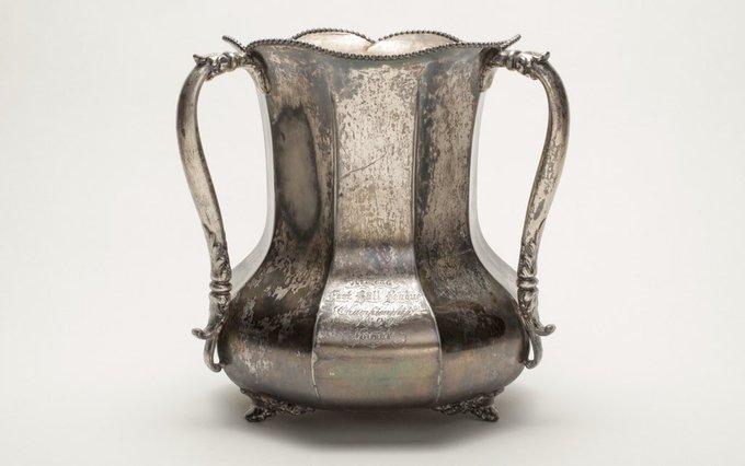 1899 Territorial Cup trophy