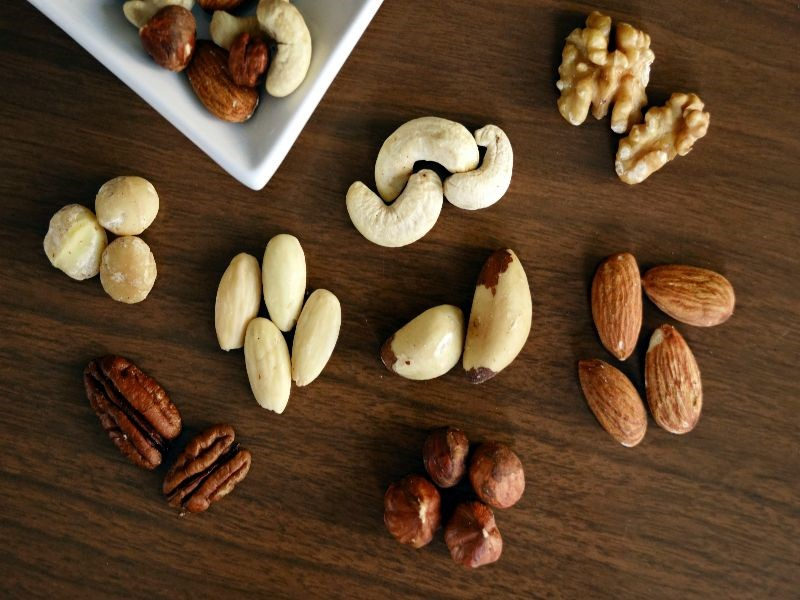 Photo of a variety of nuts