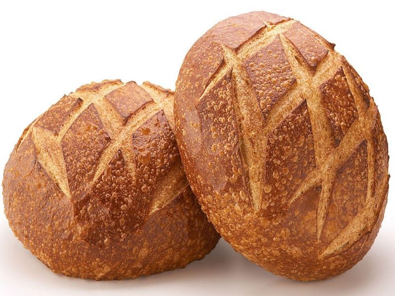 Bpudin Bakery sourdough loaves