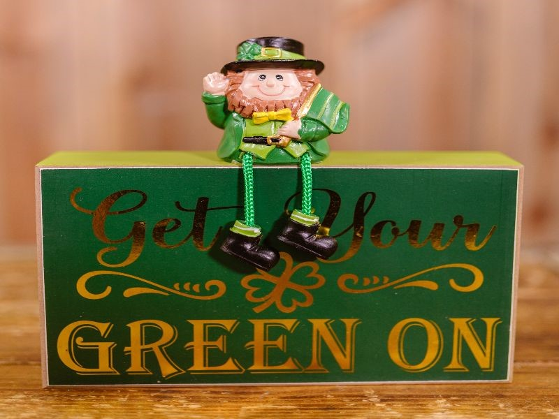 St. Paddy's sign: Get Your Green On