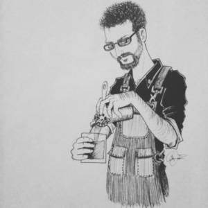 Mixologist Jeff Marron